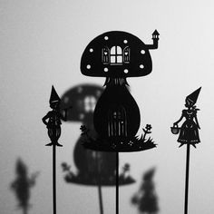 Magical Mushroom House by PaperTales