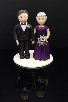 Purple cake topper | by Karolina Söderberg