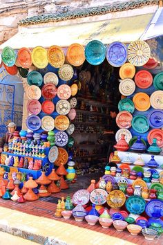 chloeswanderlustproject: Colourful street stalls in Essouria, Morocco Life Is Beautiful, Beautiful Places, Riverside Market, Global Desi, Festivals Around The World, Africa Travel, Love Design, What A Wonderful World, Oh The Places You'll Go