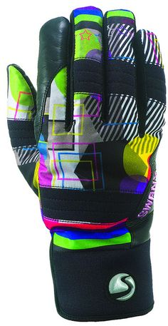 Swany: Toast AX-30    The TOAST, leather palm and aqua guard zipper enhance the techno character of this all-purpose ski or boarding mitt. www.swanyamerica.com #SIAsnowdown