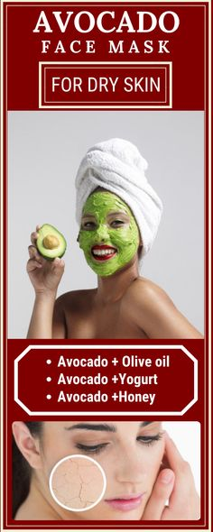 AVOCADO FACE MASK FOR DRY SKIN Avocado is widely known for its health and weight loss benefits to the body. The good news is, beyond just nutritionally, avocado is also known. Face Scrub Homemade, Homemade Face Masks, Homemade Skin Care, Mask For Dry Skin, Skin Mask, Skin Care Routine For 20s, Skincare Routine, Beauty Routines, Best Face Mask