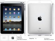 Make Your Own (Paper) iPad and iPad Sighting at NYC Starbucks