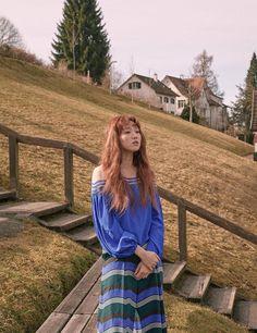 More photos of Lee Sung Kyung in Switzerland revealed Asian Actors, Korean Actresses, Korean Actors, Actors & Actresses, Drama Korea, Korean Drama, Lee Sung Kyung Wallpaper, Weightlifting Kim Bok Joo, Korean Girl