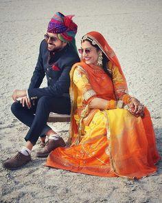 Rajasthani Bride, Rajasthani Dress, Couple Photoshoot Poses, Pre Wedding Photoshoot, Couple Shoot, Wedding Shoot, Wedding Ideas, Pre Wedding Poses, Wedding Couples