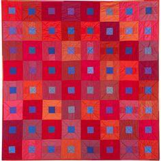 City Lights quilt pattern/kit by Helen Howes. Oakshott cotton.