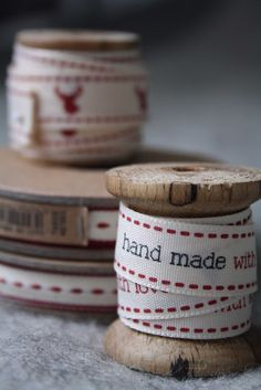 #ribbons - I want hand made with love ribbons!