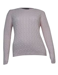 Karen Scott Womens Cable Knit Crew Neck Sweater XL Blush >>> Visit the image link more details. Fashion 2017, Fashion Brands, Pullover Sweaters, Men Sweater, Karen Scott, Spring And Fall, Latest Fashion For Women, Cable Knit, Autumn Fashion