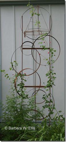 trellis hoops