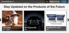 LaunchGram traz-lhe novidades do futuro