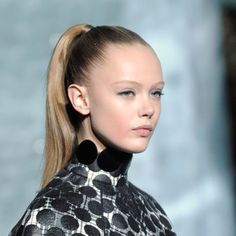 Sleek and groomed, the slick ponytail seen at Marc Jacobs AW11 is a perfect balance of glamour and praticality.