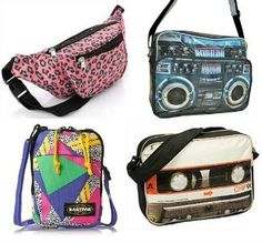 Bags with an 80s theme at SImplyEighties.com