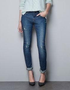 SLIM JEANS - Jeans - TRF - ZARA