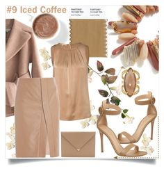 """""""Ice Coffee #9"""" by letiperez-reall ❤ liked on Polyvore featuring Carven, Michael Kors, Alexander Wang, Gianvito Rossi and Henri Bendel"""