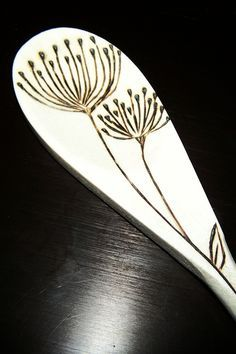 wood burning spoons - Google Search