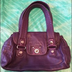 SALE!  *EGGPLANT* Marc by Marc Jacobs🔺LIKE NEW🔺 The Shifty, super-soft, squishy leather satchel by Marc by Marc Jacobs is in a rare eggplant purple color.  The second picture best shows  actual color. Bag is in nearly perfect condition! The inside is without stains, marks and is crisp and new-like.  The outside leather is nearly flawless, although there are variations in color due to leather dye. There is a small scuff mark on one or two of the corners as shown.  The silver hardware is…
