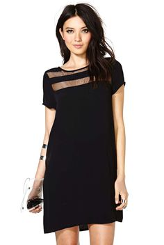 Buy Sheer Mesh Loose Dress from abaday.com, FREE shipping Worldwide - Fashion Clothing, Latest Street Fashion At Abaday.com