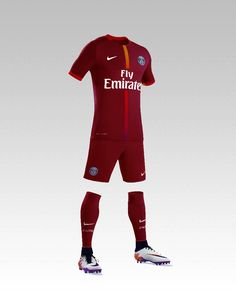 Psg concept design by kevin bertin jersey maillot kit 2018 for Psg exterieur 2018