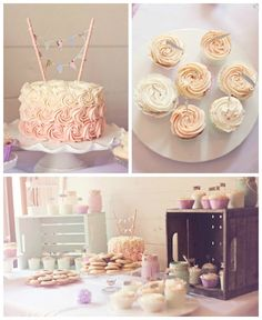 Shabby Chic Vintage 1st Birthday Party via Kara's Party Ideas | KarasPartyIdeas.com #shabbychicbirthdayparty (1)