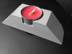 SILICONE MOLD candle holder for one tea light candle is minimalist decoration or gift. Mold for home decor ...  The Package include 1x silicone tea light candle holder mold.  DIMENSIONS FINISHED PRODUCTS:  aprox 14 cm x 3,4 cm (5.512 inch x 1,339 inch ) (Size inside is suitable for regular Candle Molds, Tealight Candle Holders, Diy Candles, Minimalist Decor, Candlesticks, Silicone Molds, Tea Lights, Creative Ideas, Modern Design