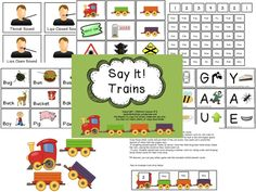 Say It! Trains Aprax
