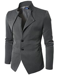 Doublju Mens Blazer Jacket with China Collar GRAY (US-S) Doublju http://www.amazon.com/dp/B006WFP9EO/ref=cm_sw_r_pi_dp_GuvVwb193QN54