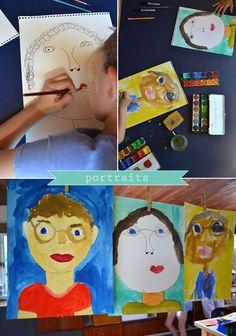 Vaderdag: portret schilderen - Daddy Portraits - Artbarblog