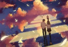 4096 Anime Girl HD Wallpapers and Background Images - Wallpaper Abyss - Page 46 Boys Wallpaper, Wallpaper Backgrounds, Scenery Wallpaper, Wallpapers, Bring Me The Horizon, Anime Scenery, Anime Artwork, Anime Couples, Background Images