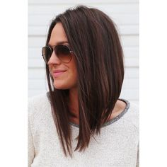 Long bob hairstyles and haircuts are easy to wear but require a quick styling method. You can style your lob as a down up do or lift your locks in a sort length hair styles easy long bobs 45 Cute Long Bob Hairstyles And Haircuts In 2017 Hair 2018, Hair Hacks, Hair Lengths, Hair Inspiration, Short Hair Styles, Long Bob Styles, Hair Makeup, Hair Beauty, Beauty Skin