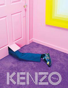 Peep Kenzo's David Lynch-ian Fall Campaign Visuals