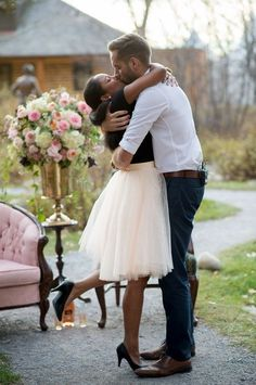 This Tear-Jerking Marriage Proposal Starts With the Prettiest Pink Tulle Skirt