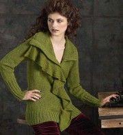 10 Draped Cardigan by Norah Gaughan - Vogue Knitting, Winter 2010/11. Обсуждение на LiveInternet - Российский Сервис Онлайн-Дневников