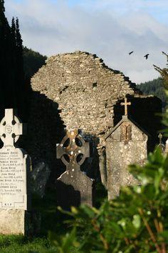 Glendalough cemetery, Ireland