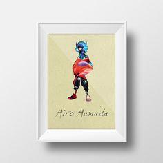 BIG HERO 6 HIRO Hamada Disney Inspired Pixar Inspiration by YOUTOM