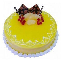 Online Cake Delivery, Cake Online, Baking Cakes, Pineapple Cake, Yummy Cakes, No Bake Cake, Chocolate Cake, Cake Decorating, Cheesecake