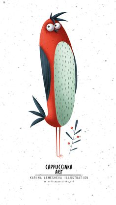 The birds on Behance