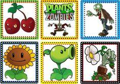decoracion de fiesta de plantas vs zombies - Buscar con Google