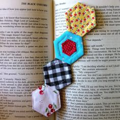 Hexagon Quilt Bookmark