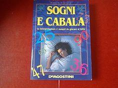 #sogni #cabala #lotto Libro SOGNI E CABALA, le interpretazioni e i numeri da giocare al lotto *Vinella