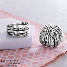 SHOP NOW #R2035 #SilpadaStyle https://mysilpada.com/shop/product/organics-ring-R2035?rep=kat.vong&localeCode=en_US