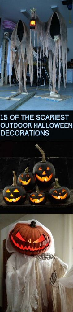 647 best Halloween images on Pinterest Halloween, Halloween - cheap halloween decor ideas