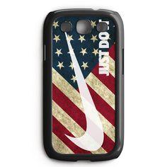 Us Flag Nike Just Do It Samsung Galaxy S3 Case