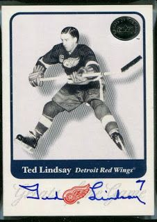 Autograph Blog - News, Tips, and Tricks of In-Person and TTM Autograph Collecting: TTM Address of The Day - Ted Lindsay (Hockey - Hall of Fame)
