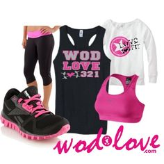 #Wodlove tanks and slouchies look great with anything! #reebokshoes #lululemon