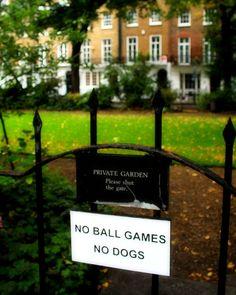 London.  How un-british