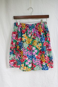 Floral Hipster Pants (size S)