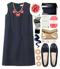 """""""wallflower"""" by taxicabs ❤ liked on Polyvore featuring Toast, Michael Kors, Pelle, FRUIT, Aesop, LIST and Bobbi Brown Cosmetics"""