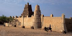 Ancient city of Timbuktu
