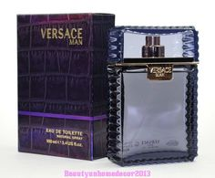 Versace Man by Versace 3.3 oz / 100 ml EDT Cologne Spray for Men New in Box #GianniVersace