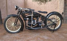 1922 Ace Motorcycle manufactured by the Ace Motor Corporation, started by…