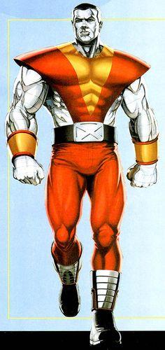 Colossus. X-Men. Mutant. Russian. Superhero. Organic steel.
